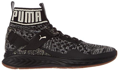 Puma Ignite Evoknit Hypernature, Scarpe Sportive Outdoor Uomo Nero (Black-birch-whisper White)
