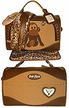 Pet Flys Uncle Monkey Regular Size Pet Carrier by Pet Flys