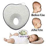 Best Infant Pillows - Onefuntech Baby Head Shaping Pillow, Newborn Infant Anti Review