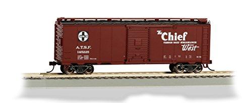 Bachmann Industries 40' Santa Fe Map Box Car - Chief - HO-Scale Train