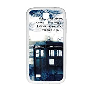 Tardis Doctor Who Smoke Picture Print In Hard Case For Samsung Galaxy S4