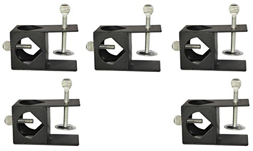 Universal Torch (Lamplight Farms 1312130 Tiki Torch Deck Mounting Bracket Clamp - Quantity 5)