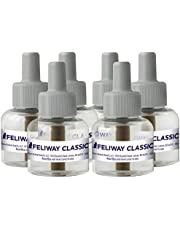 Feliway Classic Calming Diffuser Refill (6 Pack, 48 ml) | Reduce Problem Scratching, Spraying, Hiding & More | Constant Calm & Comfort at Home, C23862D