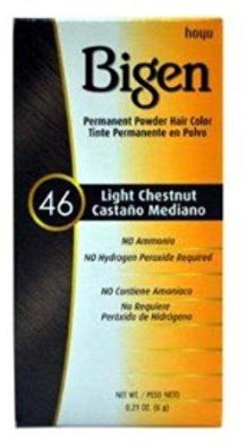 Bigen Powder Hair Color #46 Light Chestnut 0.21oz