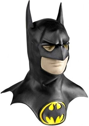 Rubie's Batman Movie Deluxe Overhead Mask with Cowl, Black, One ()