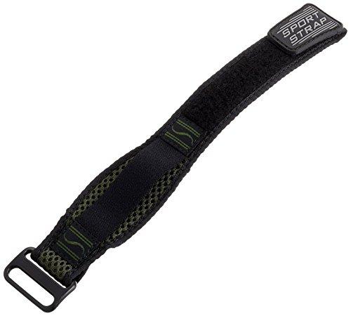 Voguestrap TX51012OL Allstrap Olive Adjustable-Length Perforated Nylon Sport Watchband