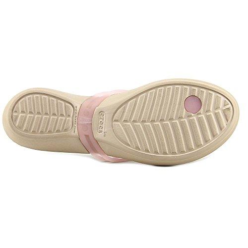 Crocs Womens Isabella Flip Flop GOLD 59v4qm48es