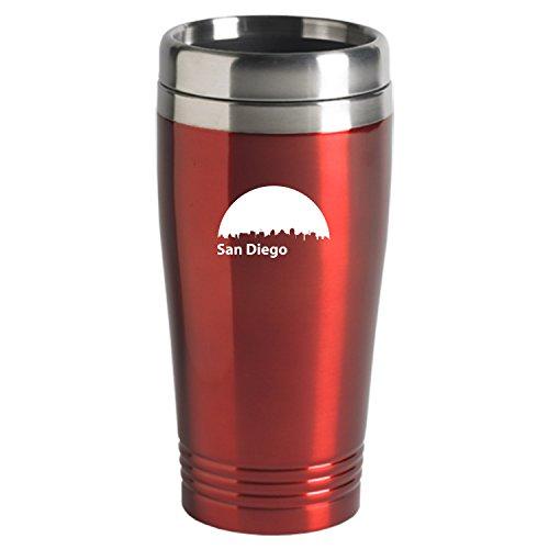 LXG, Inc. San Diego, California-Travel Mug Tumbler-Red