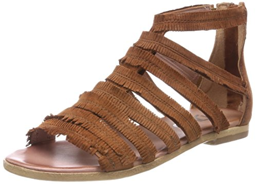 Closed Women's 6205 0101 Sandals Brandy Mjus 916003 Brown Toe 6205 Wap1q4wwn