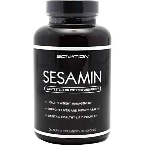 Scivation Sesamin 90 Softgels