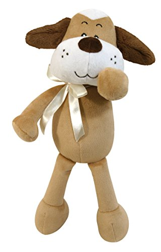 Stephan Baby Fun and Floppy Plush Pal, Brown (Vocabularry Plush Toy)