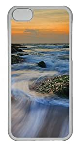 MMZ DIY PHONE CASEipod touch 4 Cases, ipod touch 4 Case - Beautiful Scenery Of Australia Custom PC Case Cover For ipod touch 4 - Tranparent