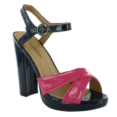 Footwear Sensation - Sandalias de vestir para mujer rosa - fucsia
