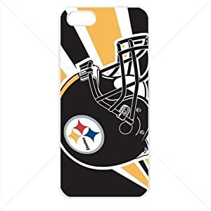 NFL American football Pittsburgh Steelers Case For Sumsung Galaxy S4 I9500 Cover PC Soft (White)