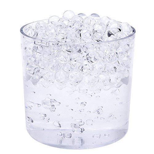 Sfere Bio-Gel Cristallo Acqua a Espansione Colore Trasparente - 20 Pacchetti - Ideale per Vaso Centrotavola da Matrimonio Cerimonia Trimming Shop