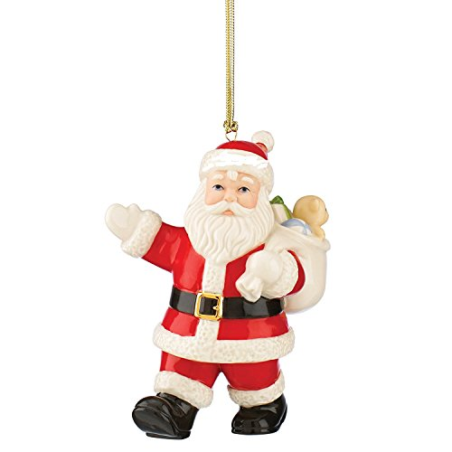 (Lenox Special Delivery by Santa Xmas Ornament New)