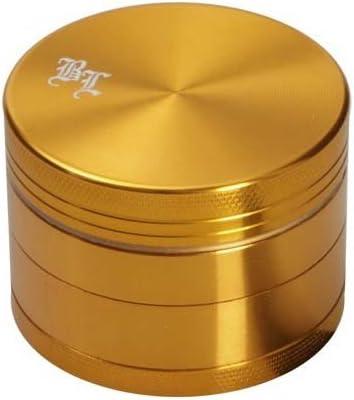 Grinder 4 parti 50 mm Oro gold Black Leaf Lattina