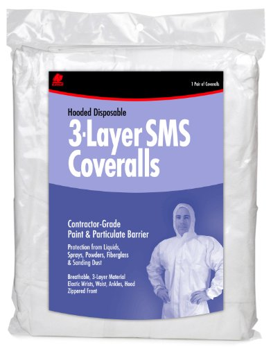 Buffalo Industries (68526) Hooded SMS Disposable Coverall - Size X-Large
