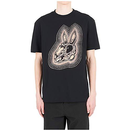 McQ Alexander McQueen Men t-Shirt Rabbit Nero M