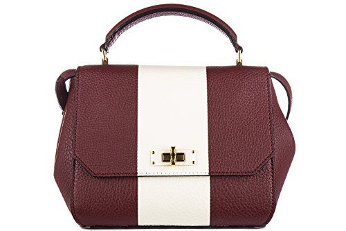 bally-womens-leather-handbag-shopping-bag-purse-b-turn-xs-red