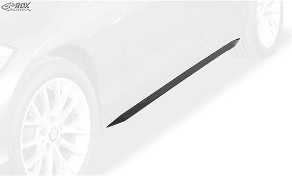Rdx Racedesign Rdsl500075 Seitenschweller Schwarz Hochglanz Mit Abziehbarer Schutzfolie Auto