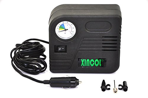 Lowest Prices! XINCOL 12V Mini Car Air Compressor Inflator Model B90