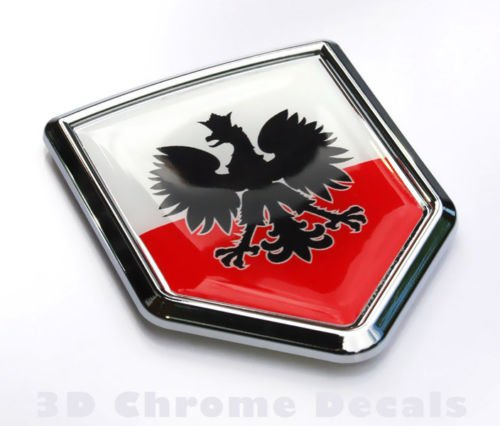 poland car decal - 2