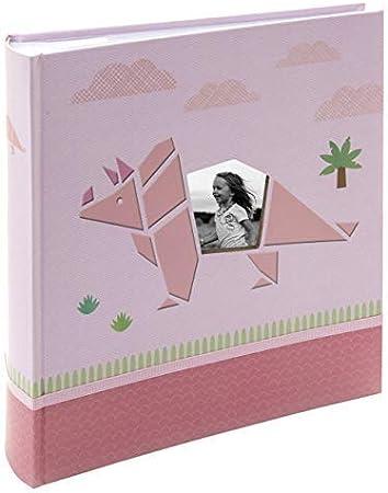 Kusso Album Photo Personnalisable Pour Enfant Motif Dinosaures Rose 10 X 15 Cm Amazon Fr Fournitures De Bureau