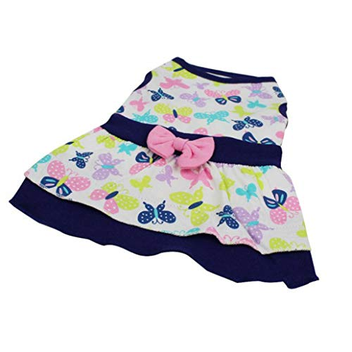 LVYING for Small Dog Summer Clothing Dress Pet Dogcute PaintedSkirt Chihuahua Ropa Perro Roupas para Cachorro