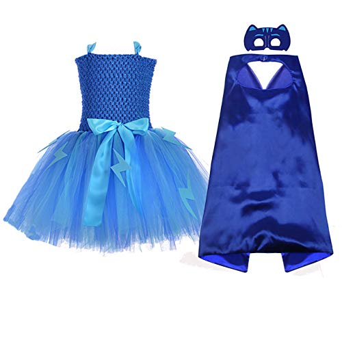 AQTOPS Teens Girls Super Hero Costume Party Supergirl Role Play Outfits -
