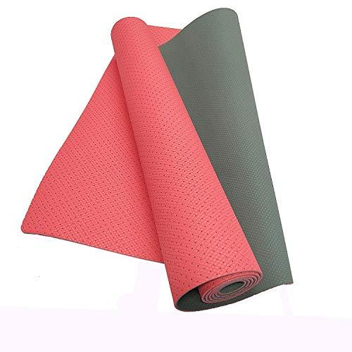 JUN Yogamatte Pure Stretch-Stretch atmungsaktive Yoga Matte Balance Pad (183  61  0,4 cm)