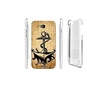 FUNDA CARCASA EFECTO MADERA ANCORA SHIPPING PARA HTC DESIRE 616