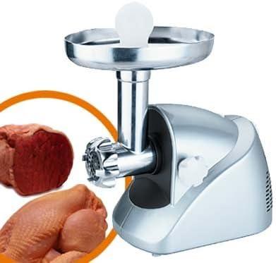 JOCCA- Picadora de carne eléctrica, color plata: Amazon.es: Hogar