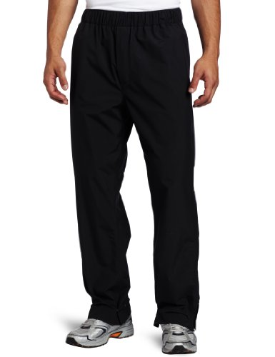 Zero Restriction Men's Featherweight Pant Rain Pant, Blac...