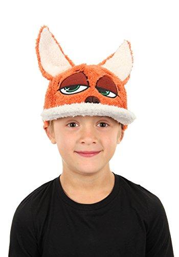 Disney Boys Zootopia Nick Wilde Child Fuzzy Baseball Cap Standard