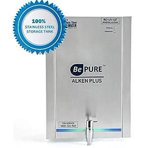 Bepure ALKEN+ India's First 100% Stainless Steel Storage RO-UV-UF-Mineralization Water Purifier (No harmful plastic storage)
