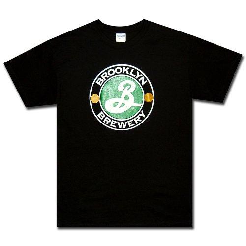 Brooklyn Brewery T-Shirt : Black Logo Shirt-L