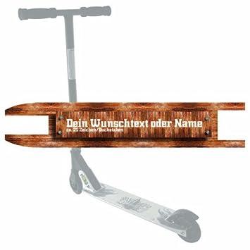 Custom cinta de agarre madera para patinete: Amazon.es ...