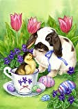 Easter Friends – 28″ x 40″ Toland Art Banner For Sale
