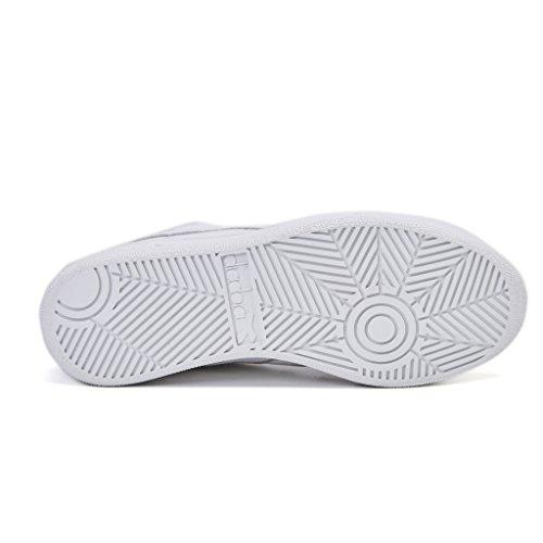 Diadora Heritage, Uomo, B. Elite, Canvas/suede, Sneakers, Bianco, 42 EU