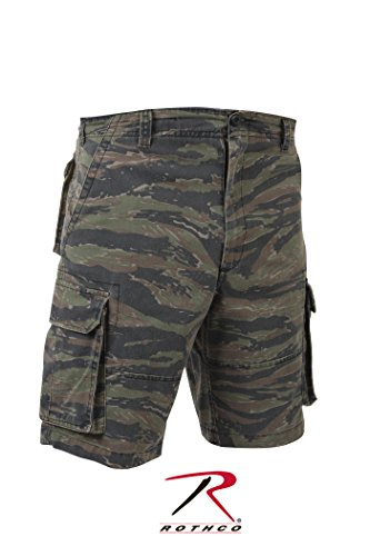 Rothco Vintage Paratrooper Shorts, Tiger Stripe, (Rothco Tiger)