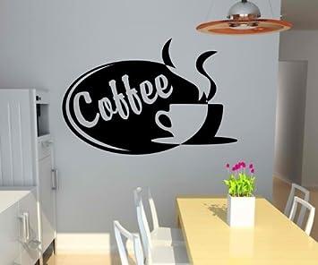 Wandtattoo Coffee Tasse Kaffee Küche Deko Wand Sticker ...