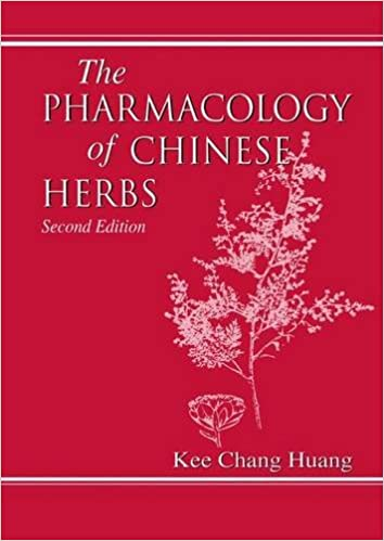 The pharmacology of Chinese herbs, Volume 874