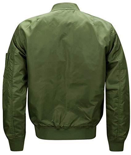 Uomo Vento Patches Giacche Libero A Force Classiche In Tempo Abbigliamento Per Il Da Bomber grün Outdoor Armee Air Poliestere Giacca gOEqwTO