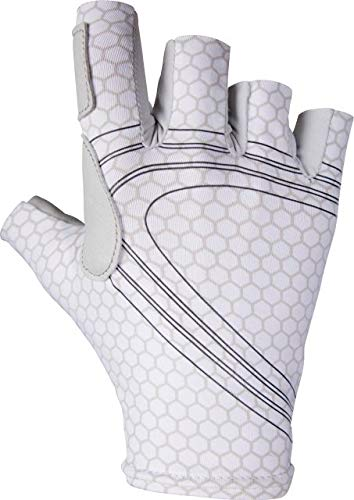 NRS Castaway Glove Grey Scale Small by NRS