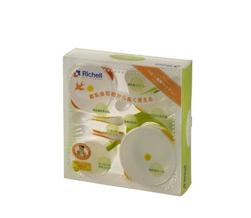 Richell Try series baby tableware set UF-3 by Ritschel (Image #1)