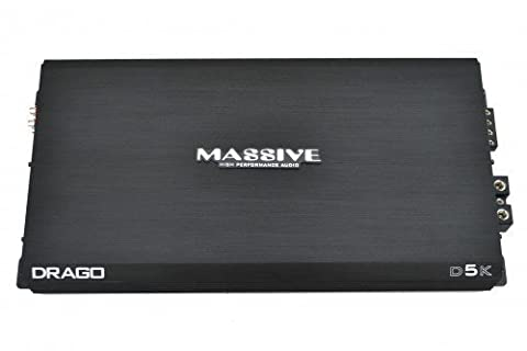 Massive Audio DRAGO 5k Amplifier (Amplifier Monoblock 5000 Watts)
