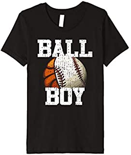 Kids Cool Baseball Basketball Player Funny  Cool Gift Boys T-shirt | Size S - 5XL