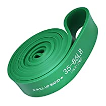Single Resistance Band,TOPELEK Exercise Stretch Tube,Natural Latex Workout Band with Door Anchor,Foam Handles and Manual for Resistance Training,Physical Therapy,Fitness Strength Training,Rehabilitating Injures,Shaping Body,Yoga (20lbs,Black)