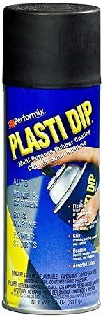 Performix Plasti Dip Matte Black Aerosol Spray Can